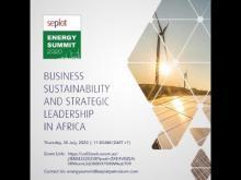 SEPLAT ENERGY SUMMIT 2020